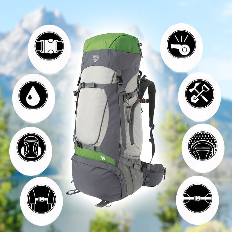 BESTWAY Ralley 70L Tough Large Backpack