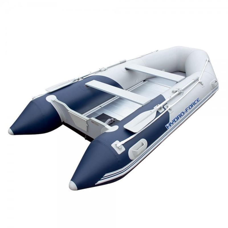 Bestway Hydro Force Mirovia Pro 130 Inch Inflatable Boat Raft Oars - Inflatable boat