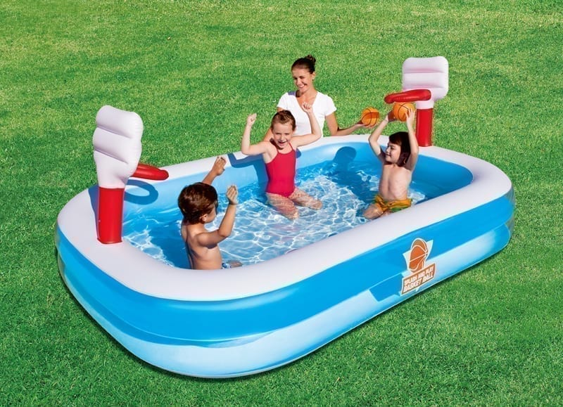 Swimming pool - Bestway Basketball Play Above Ground Pool