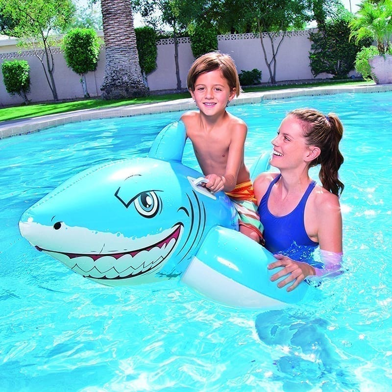 Bestway Inflatable Great White Shark Rider