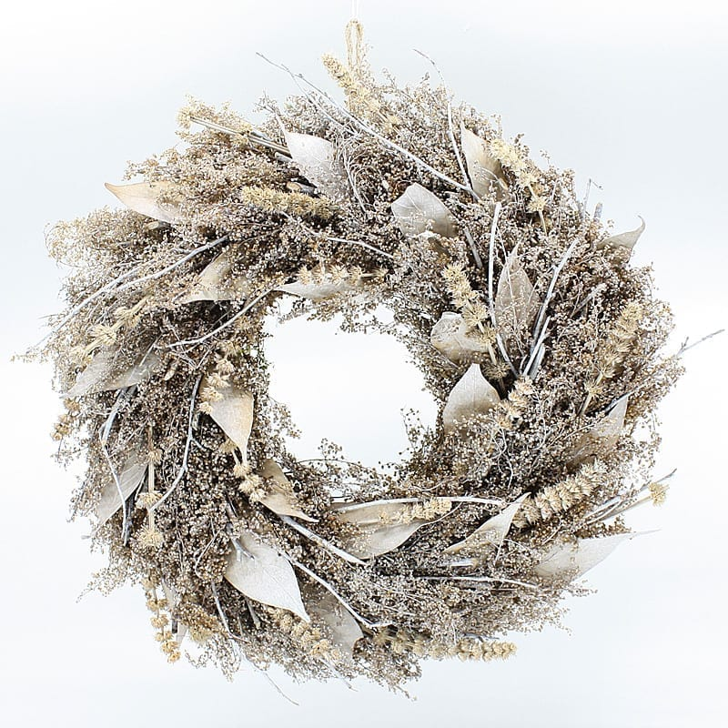 Christmas Natural Dried Plants Wreath