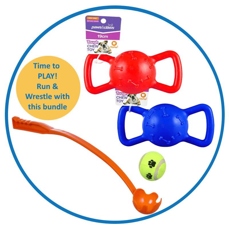 Ball Launcher and Tug Toy